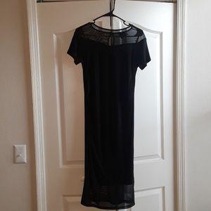 🖤🤰🏾Asos Maternity Black midi bodycon dress